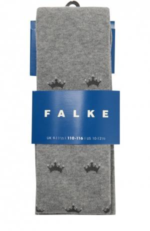 Колготки с принтом Falke. Цвет: серый