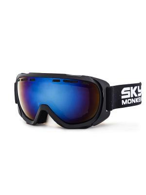 Очки горнолыжные SR41 RV Sky Monkey. Цвет: черный, синий