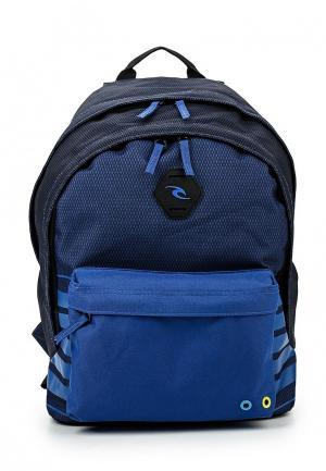 Рюкзак Rip Curl. Цвет: синий