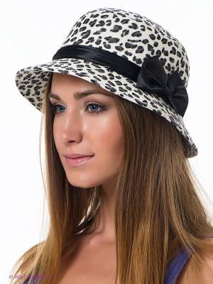 Шляпа Maxval. Цвет: молочный, черный
