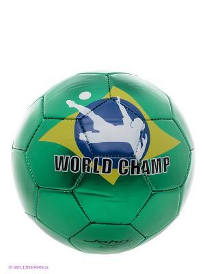 Мяч футбольный Компетишн V John. Цвет: зеленый