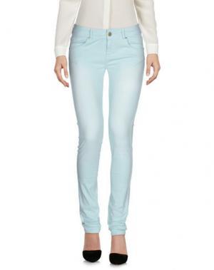 Повседневные брюки CUSTO GROWING. Цвет: небесно-голубой