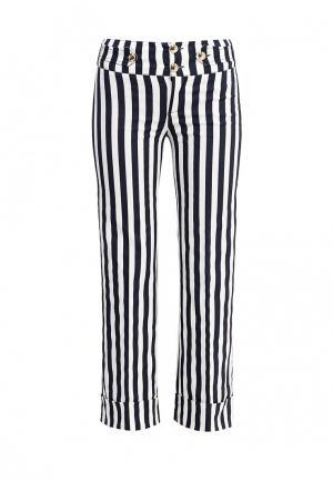 Брюки Liu Jo Jeans. Цвет: черно-белый