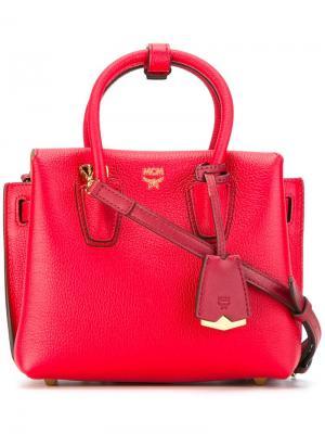 Мини сумка-тоут Milla MCM. Цвет: красный