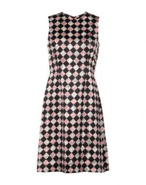Платье до колена JONATHAN SAUNDERS. Цвет: розовый