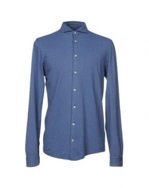Pубашка GRAN SASSO. Цвет: синий