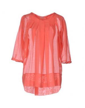 Блузка DEVOTION. Цвет: коралловый