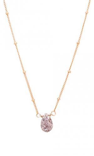 Ожерелье rose silverite Natalie B Jewelry. Цвет: металлический золотой