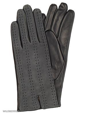 Перчатки женские с эффектом Touch Screen Marco Bonne`. Цвет: черный, антрацитовый