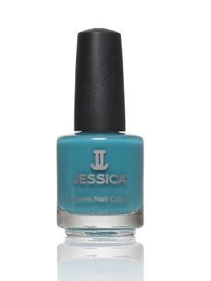 Лак для ногтей  # 1100 Faux Fur Blue, 14,8 мл JESSICA. Цвет: синий