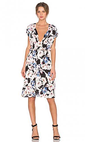 Платье lennox Eight Sixty. Цвет: кремовый
