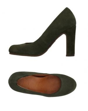 Туфли SCHOLL. Цвет: зеленый-милитари