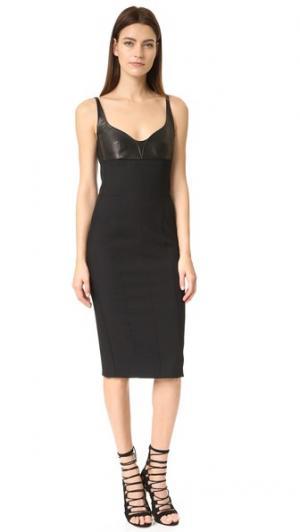 Платье без рукавов Narciso Rodriguez. Цвет: голубой