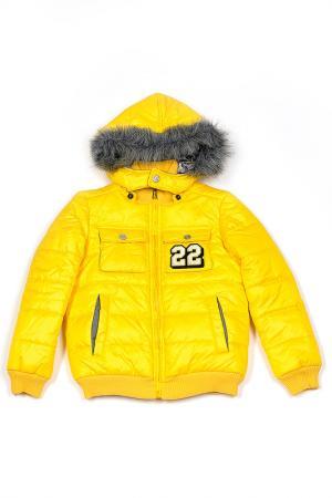 Куртка Frankie Morello. Цвет: желтый