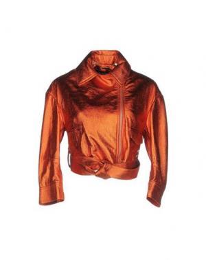 Куртка NORA BARTH. Цвет: ржаво-коричневый