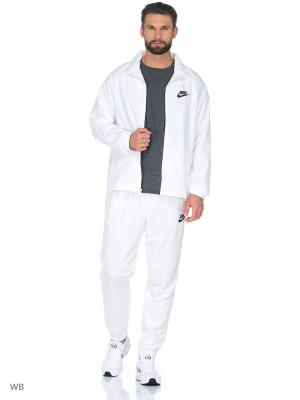 Костюм M NSW TRK SUIT WVN BASIC Nike. Цвет: белый
