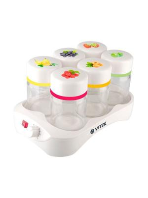 Йогуртница Vitek VT-2600(W). Цвет: белый