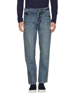 Джинсовые брюки LRG. Цвет: синий