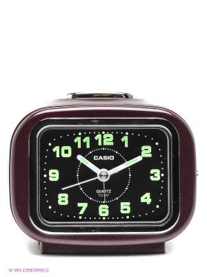 Часы СASIO TQ-367-4E CASIO. Цвет: коричневый, черный