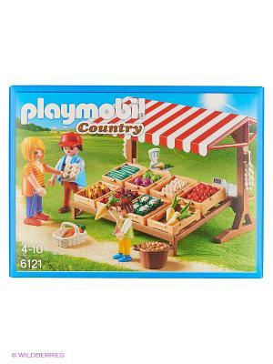 Ферма: Фермерский рынок Playmobil. Цвет: белый, красный