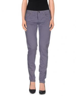 Повседневные брюки UP ★ JEANS. Цвет: фиолетовый