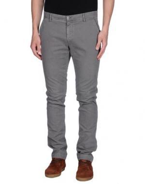Повседневные брюки EM'S OF MASON'S. Цвет: серый