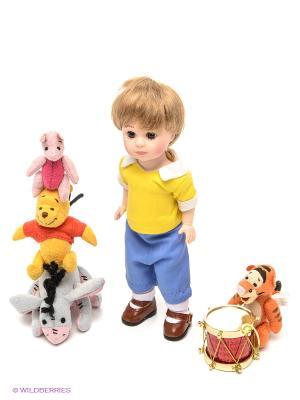 Набор кукол Кристофер Робин и его друзья 20 см коллекционные Madame Alexander. Цвет: желтый