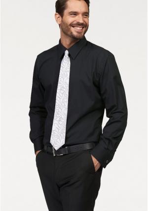 Рубашка STUDIO COLETTI. Цвет: белый, черный