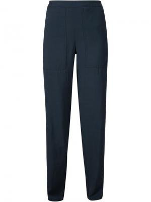Relaxed pants Lemaire. Цвет: синий