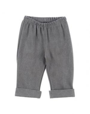 Повседневные брюки NANÁN. Цвет: свинцово-серый