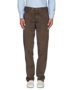 Повседневные брюки PIATTO. Цвет: хаки