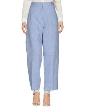 Повседневные брюки ATTIC AND BARN. Цвет: лазурный