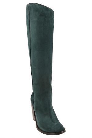Сапоги Costume National. Цвет: зеленый