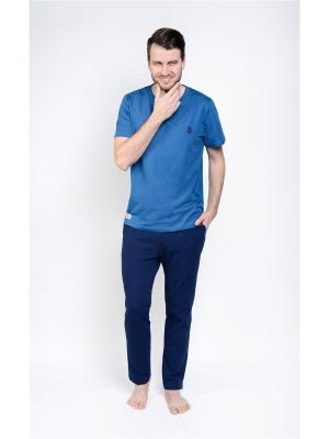 Домашний костюм Begood. Цвет: темно-синий, синий