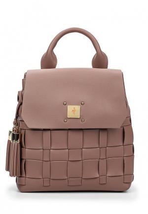 Рюкзак Menbur. Цвет: розовый