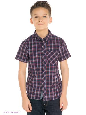Рубашка Sheldon Ss Woven Boy BILLABONG. Цвет: темно-синий
