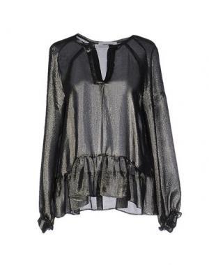 Блузка MAURO GRIFONI. Цвет: стальной серый