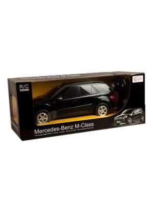 Машина р/у на аккум. rastar mercedes-benz ml-class r/c 1:10, со светом. Цвет: черный