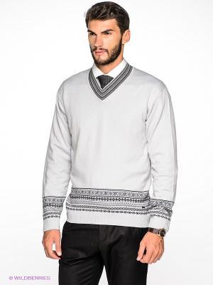 Пуловер Greg Horman. Цвет: серый