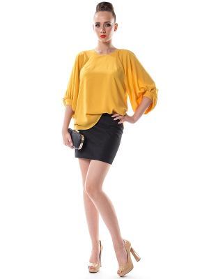 Блузки OKS by Oksana Demchenko. Цвет: желтый