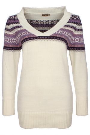 Пуловер Usha. Цвет: фиолетовый