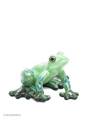 Фигурка Лягушка Pavone. Цвет: зеленый