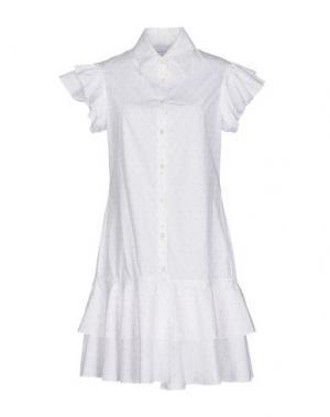 Короткое платье DAIZY SHELY. Цвет: белый