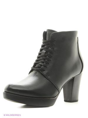 Ботинки Tamaris. Цвет: черный, темно-серый