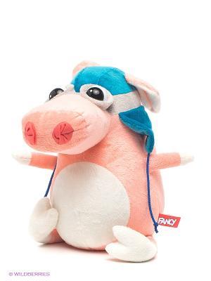 Свинка Пилот Fancy. Цвет: бледно-розовый