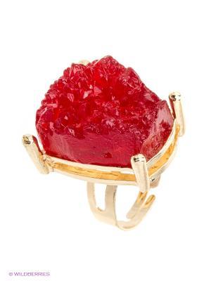 Кольцо Vittorio Richi. Цвет: красный