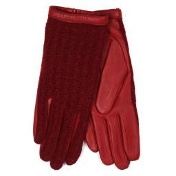 Перчатки  KEIKO/AGN/W темно-красный AGNELLE