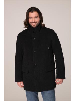 Пальто Paxton. Цвет: серый