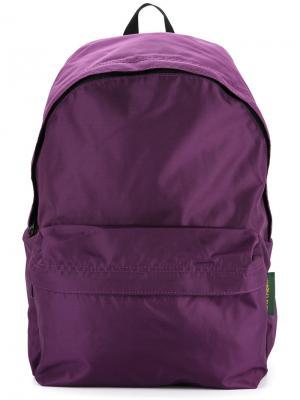 Классический рюкзак Hervé Chapelier. Цвет: розовый и фиолетовый