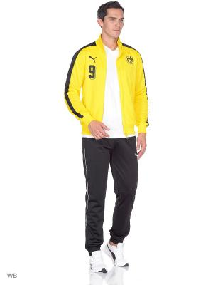 Толстовка BVB T7 Jacket PUMA. Цвет: желтый, черный